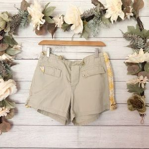 American Eagle Tan Khaki Shorts sz 4 ✨